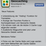 Geocaching iphone App Update 4.5.5