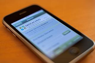 Geocaching Smartphone